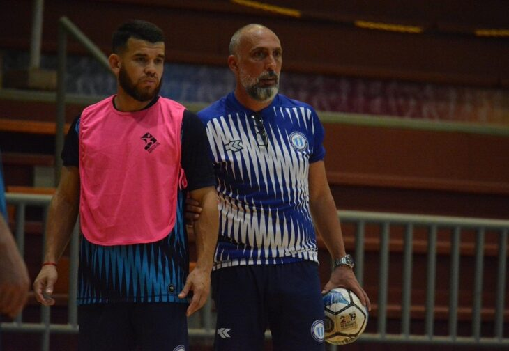 """""""Simplemente queremos mejorar el fútbol de salón"""", apuntó Sandro Antiveros, misionero campeón con la selección argentina"""