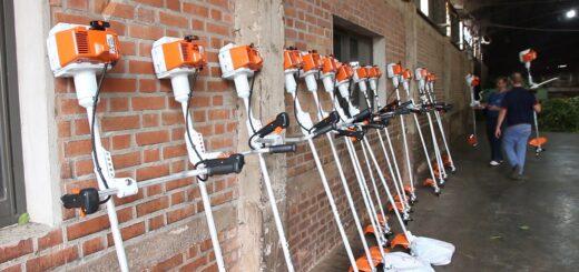 El INYM continúa realizando la entrega de herramientas para mejorar el trabajo en los yerbales