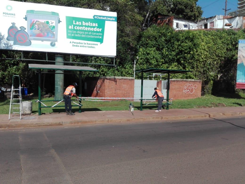 Buscan ordenar la circulación peatonal y vehicular en Posadas