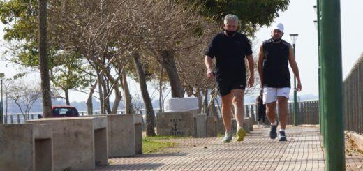 Más de dos mil posadeños disfrutaron de las caminatas recreativas