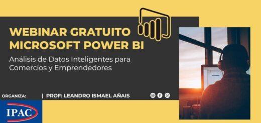 El IPAC lanzó el Curso de Análisis de Datos Inteligentes Microsoft Power BI
