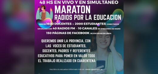 Maratón de radios por la Educación unirá a todo Misiones con más de dos mil estudiantes conectados