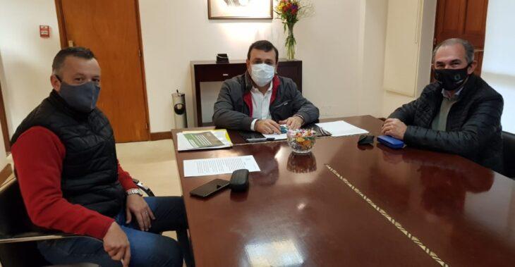 El gobernador Herrera Ahuad evaluó obras para Misiones junto al nuevo jefe de Vialidad Nacional
