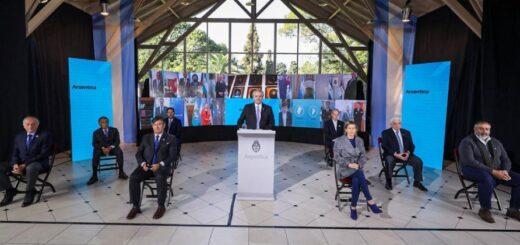 El presidente Alberto Fernández encabezó en forma virtual el acto central por el 204 Aniversario de la Declaración de la Independencia