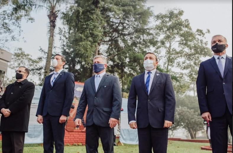 9 de Julio: el Gobernador resaltó el esfuerzo del pueblo misionero que hoy escribe parte de su historia