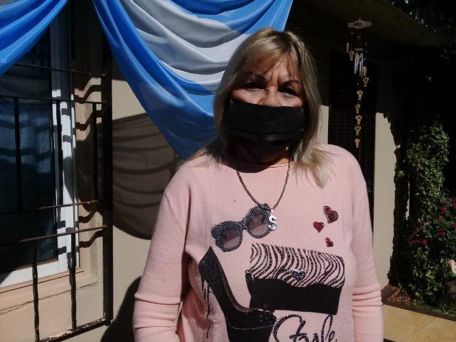Sandra Barrios, secretaria general del Sindicato deTaxis, Remises y Afines de la Provincia