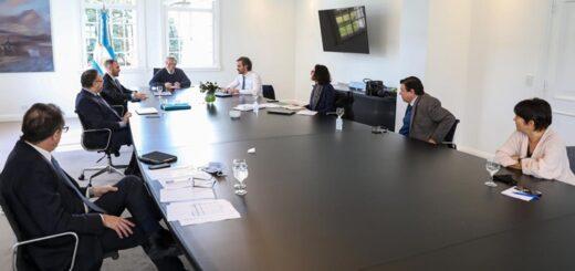 El Presidente encabezó una reunión del gabinete económico en Olivos