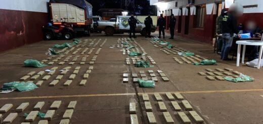 Hipólito Yrigoyen: la Policía de Misiones interceptó un cargamento con más de380 kilogramos de marihuana