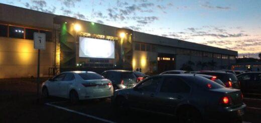 Arrancó el autocine del IMAX en el Parque del Conocimiento de Posadas