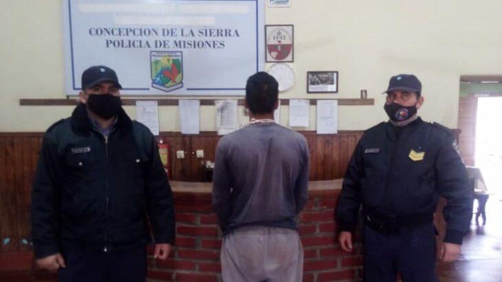 Hay un detenido por la brutal violación a una joven embarazada en un yerbal del Sur misionero