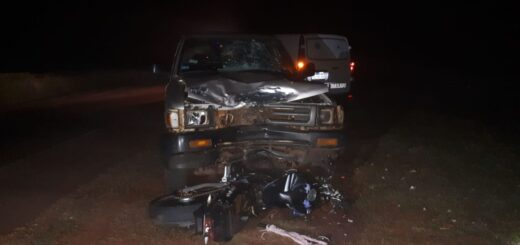 Un motociclista de 24 años murió en un choque frontal con una camioneta