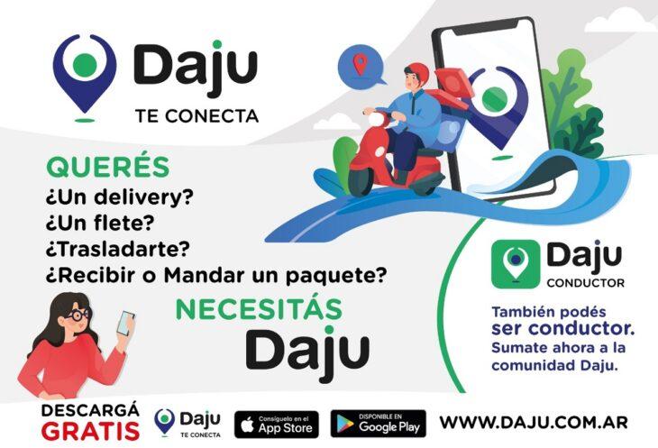 Daju App: una nueva solución posadeña para el transporte