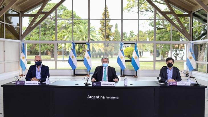 El presidente Alberto Fernández anunció cómo sigue la cuarentena en el AMBA