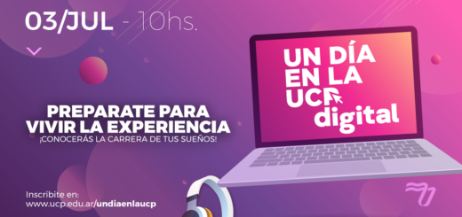 """La Universidad de la Cuenca del Plata organiza """"UN DÍA EN LA UCP digital"""""""