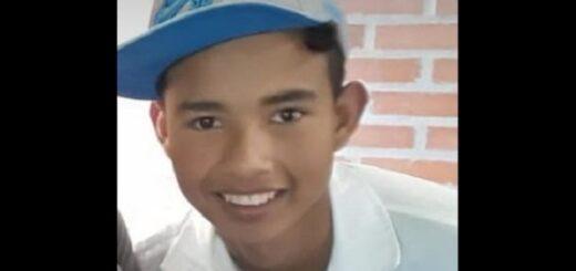 """""""A Fernando lo mataron sin motivo"""", manifestó la tía del adolescente que asesinaron de una puñalada al corazón en San Vicente"""