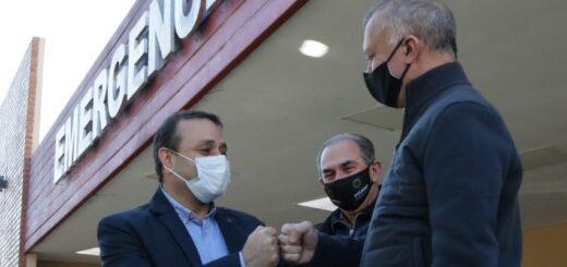 Leonardo Stelatto acompañó la inauguración de la Unidad de Cuidados Intensivos del Hospital Favaloro