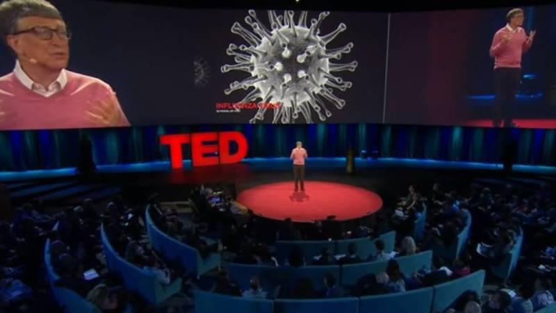 2015年のTEDカンファレンスでのビルゲイツ氏