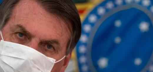 El presidente de Brasil, Jair Bolsonaro, tiene síntomas de coronavirus