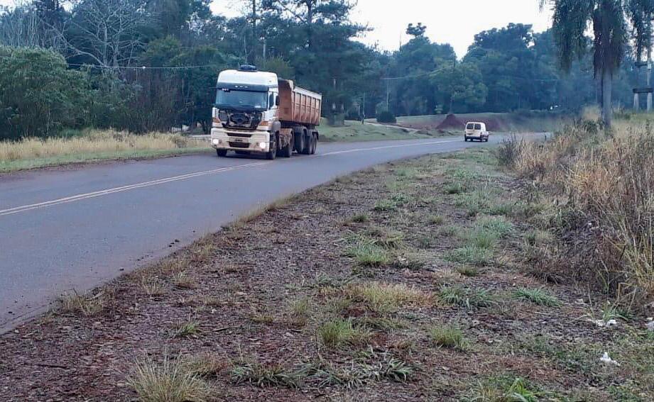 Eldorado: camino a su trabajo, un hombre despistó en la ruta 17