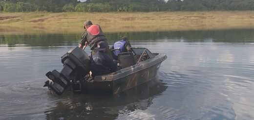Sigue la búsqueda del joven desaparecido en las aguas del Lago Urugua-í