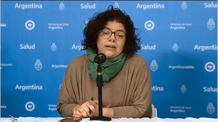 Carla Vizzotti: «Cualquier resfrío que tengamos en invierno es coronavirus hasta que se demuestre lo contrario»