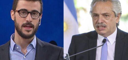 """Diego Leuco le respondió a Alberto Fernández: """"Qué tristeza verlo tan violento"""""""