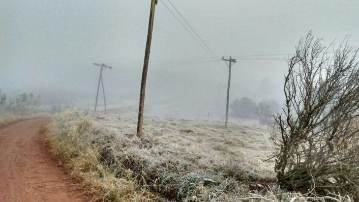 Luego de la tormenta, una masa de aire polar se instala en Misiones provocando muy bajas temperaturas