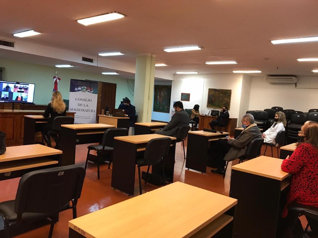 Consejo de la Magistratura: once profesionales rindieron sus exámenes de manera virtual