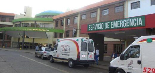 Coronavirus: a raíz de la pandemia, informan cómo funciona la atención en la Emergencia en el Hospital Escuela de Posadas