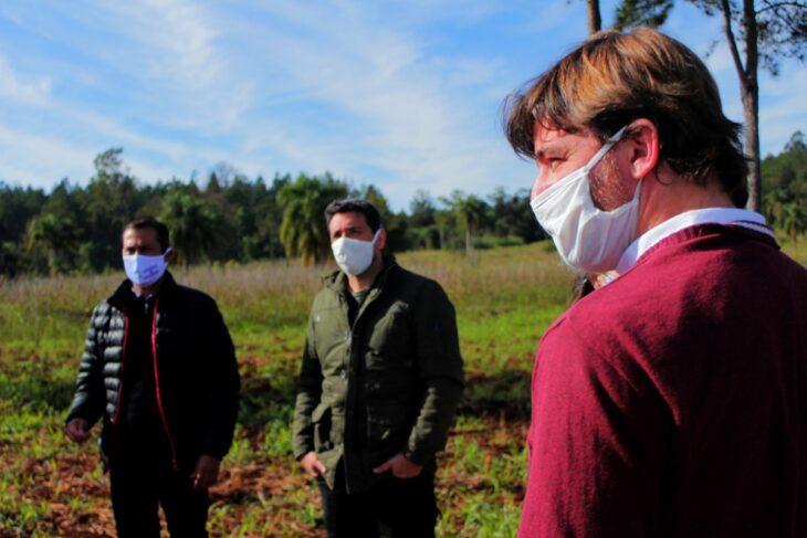 Misiones: el Agro acordó plan de trabajo con los municipios de Victoria y Wanda