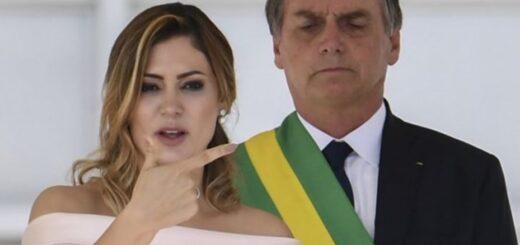 La esposa de Jair Bolsonaro tiene coronavirus