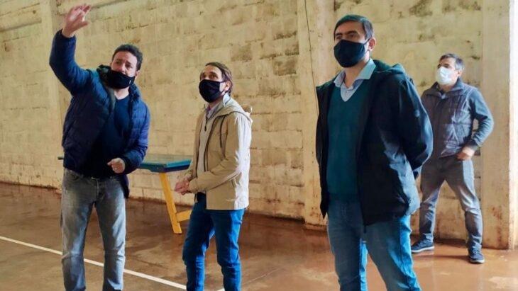 Eldorado: el intendente acordó obras y proyectos con el Ministerio de Deportes