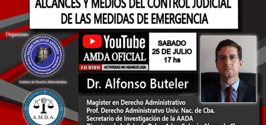 """Disertarán sobre """"alcances y medios del control judicial de las medidas de emergencia"""" en Misiones"""