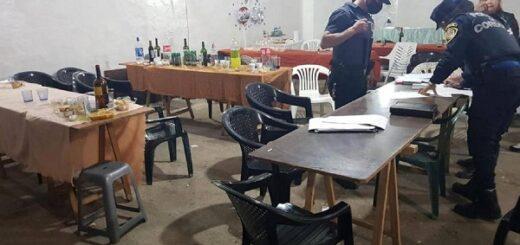 Córdoba: tres fiestas convocaron a 150 personas pese al aislamiento obligatorio