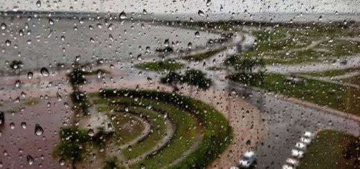 Martes con lluvias y tormentas acompañadas de un marcado descenso de las temperaturas en Misiones