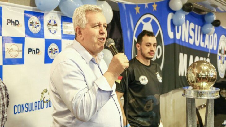 Coronavirus: murió el vicepresidente de Gremio de Porto Alegre
