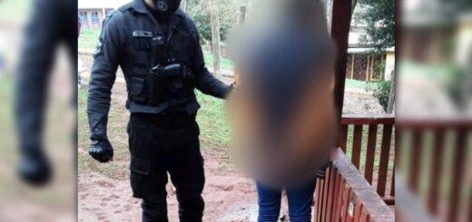 Detienen a un joven que robó un comercio a punta de cuchillo en San Pedro
