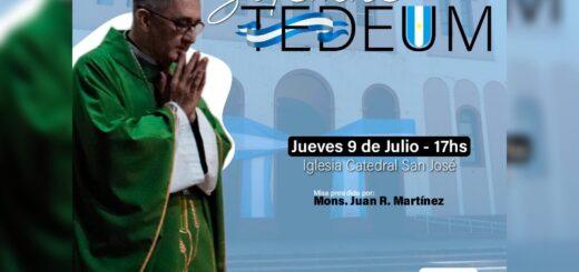 EL Monseñor Juan Rubén Martínez encabezará el tedeum el próximo jueves para celebrar el 9 de Julio