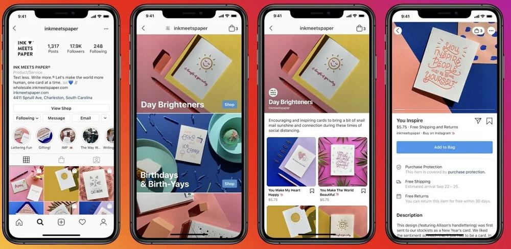 """Presentaron """"Instagram Shop"""", la nueva función que permite comprar sin salir de la app"""