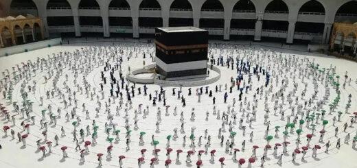 Empezó la peregrinación islámica a La Meca con estrictas medidas por el coronavirus