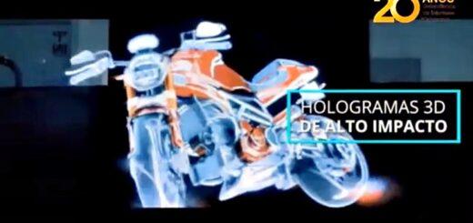 VI Congreso Regional de Marketing: los hologramas, la publicidad del futuro que se abre paso en el presente