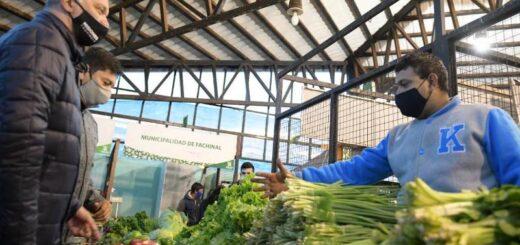 El vicegobernador recorrió el mercado concentrador de Posadas
