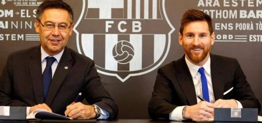 El presidente del Barcelona fue contundente sobre el futuro de Lionel Messi