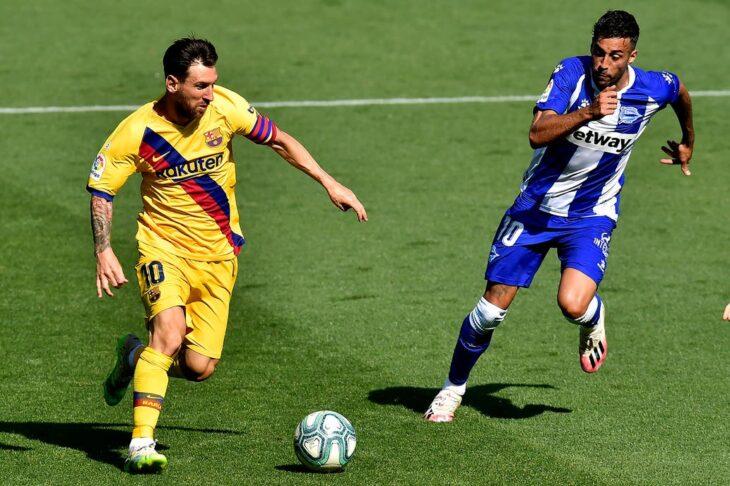 El brillante partido de Messi en el cierre de la Liga de España: dos gritos y un pase-gol para quedar como Pichichi por séptima vez en su carrera