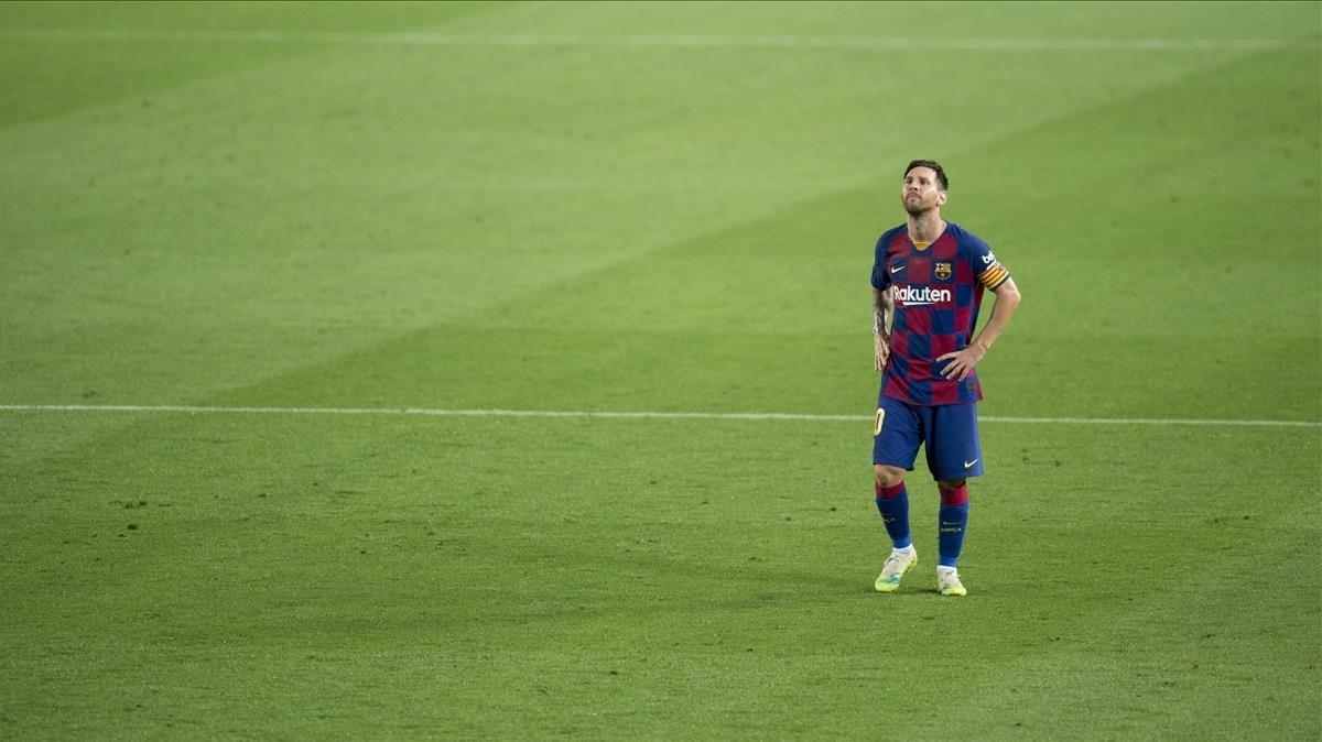 """Explotó Lionel Messi: """"Si seguimos así, el partido ante Napoli también lo vamos a perder"""""""