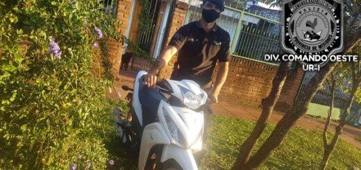 Posadas y Garupá: policías detuvieron a un hombre y recobraron tres motocicletas robadas