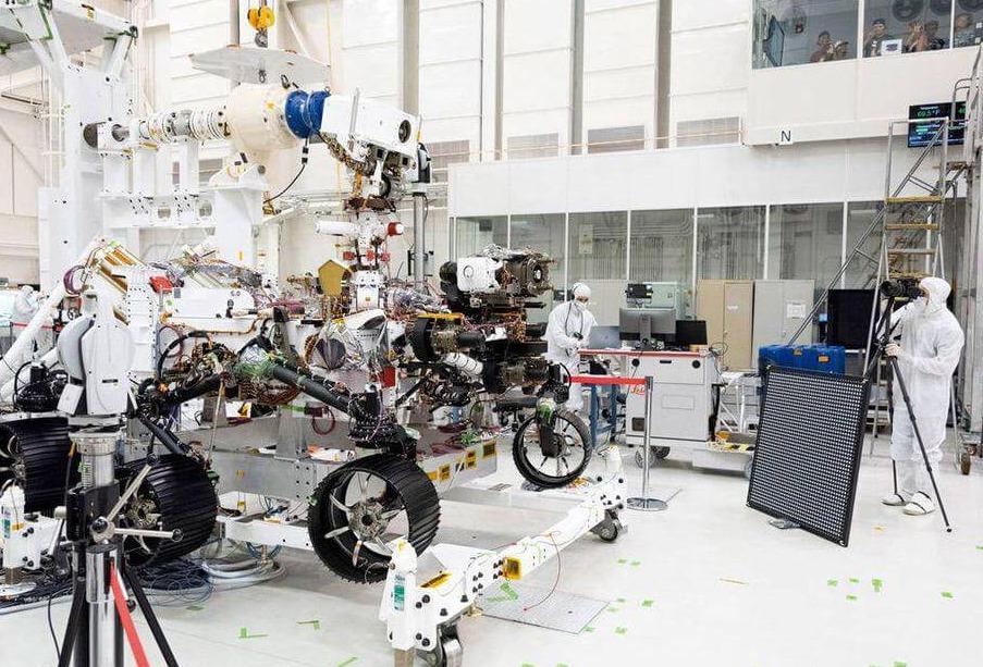 La NASA lanzó a Marte el robot Perseverance en busca de vida extraterrestre