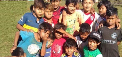 """Desde Posadas iniciaron una cadena solidaria con subasta para ayudar a los niños de la aldea """"El Pocito"""" de Capioví"""