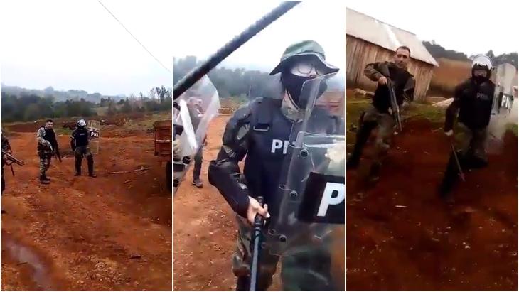 Tras incidentes con Prefectura, productores del Alto Uruguay temen que les decomisen los tractores que trajeron de Brasil