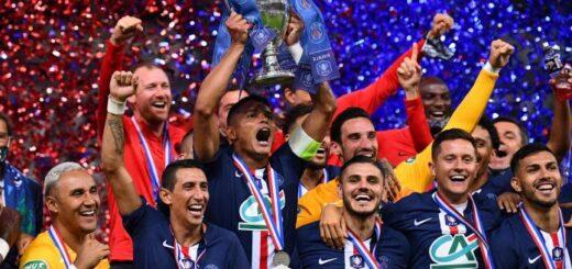 Con Paredes, Icardi y Di María, PSG se consagró campeón de la Copa de Francia